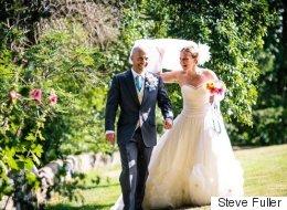 Cette mariée a tout fabriqué pour son mariage (PHOTOS)