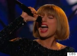 Taylor Swift Gets The Grammys Off To A Flying Start