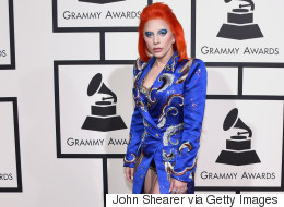Lady Gaga's Bowie-Inspired Grammys Look Was As Awesome As Expected