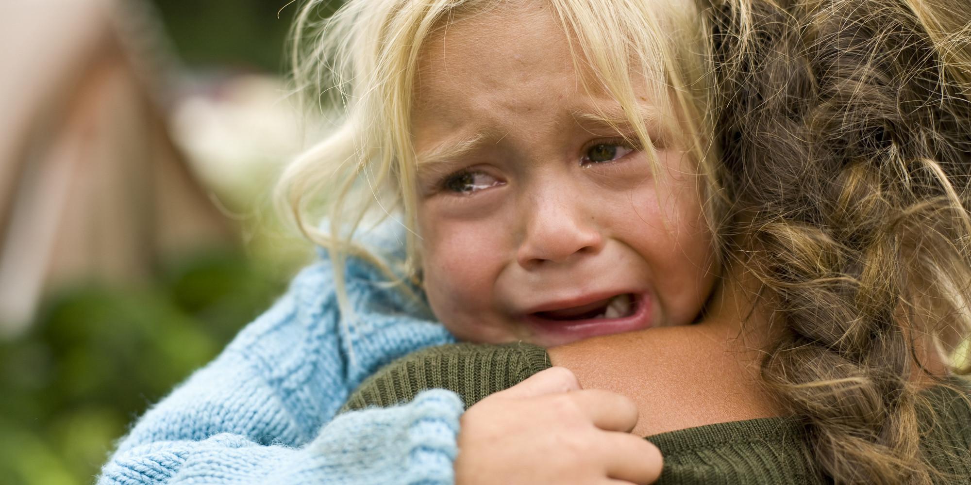 Фото плачущие дети и родители