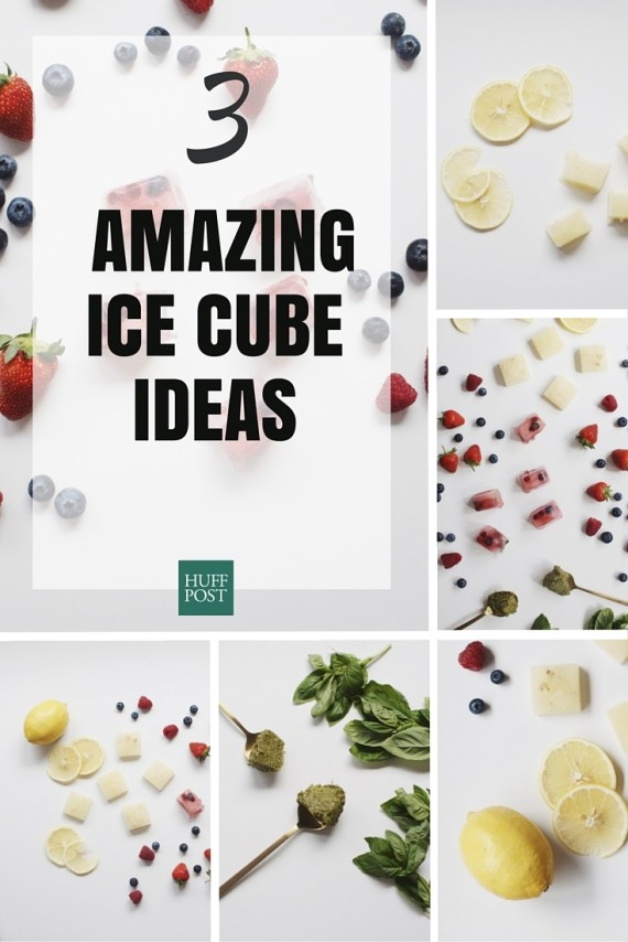 amazing ice cube ideas
