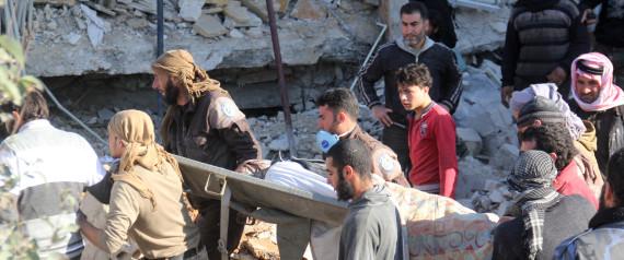 CRIMES DE GUERRE SYRIE