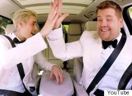 James And Justin Team Up For Special Grammys Carpool Karaoke