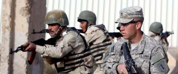 AMERICANS IN IRAQ