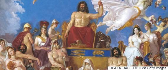 gods of olympus