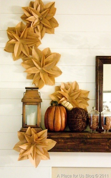 Craft Of The Day Brown Paper Bag Flowers Huffpost Life