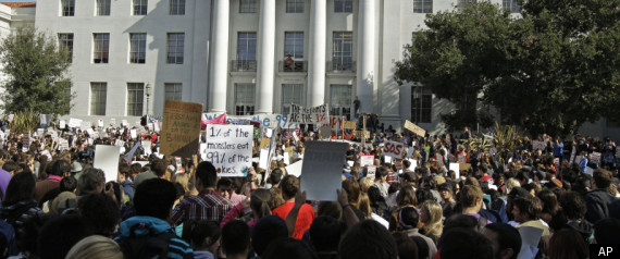 OCCUPY CAL FIRST DAY
