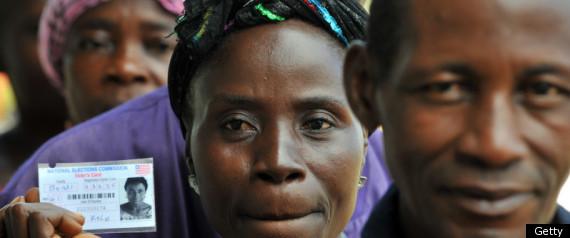 LIBERIA ELECTIONS 2011 SIRLEAF