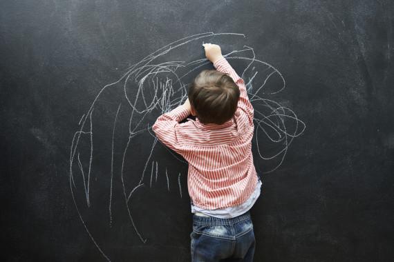 kids classroom art