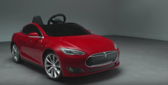 Tesla Model S Toy Car n 9248194 on tesla model s for kids by radio flyer boasts