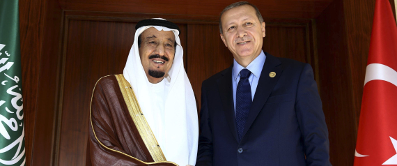 ERDOGAN AND KING SALMAN