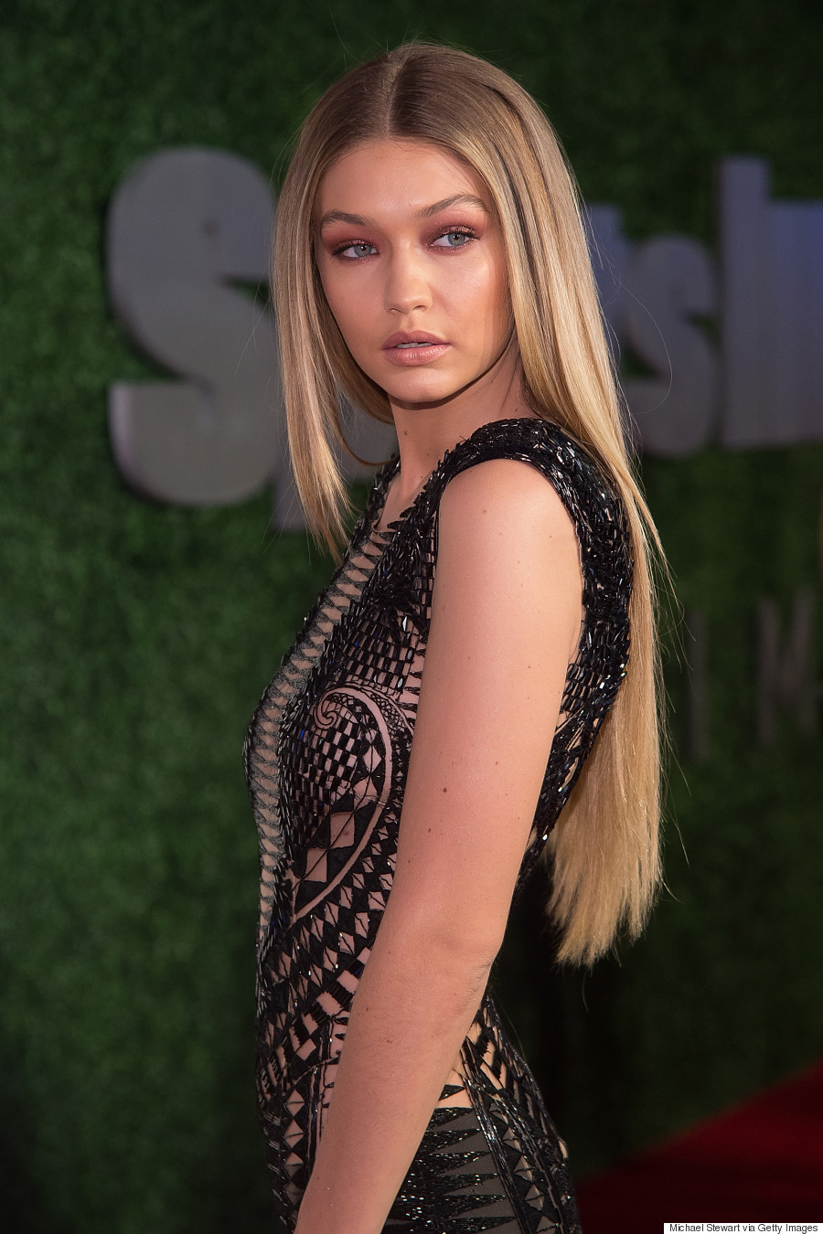 Gigi Hadids Sheer Cut Out Jumpsuit Is Next Level Sexy