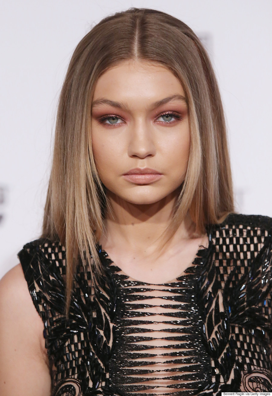 gigi hadid 39 s sheer cut out jumpsuit is next level sexy