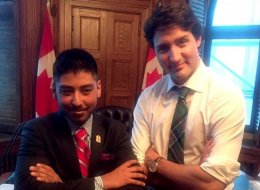 Watch Out Trudeau, This 19-Year-Old Cancer Survivor Wants Your Job