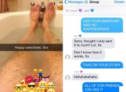 Dad Accidentally Sends Saucy Snapchat To Daughter, Whole World Ends Up Seeing It