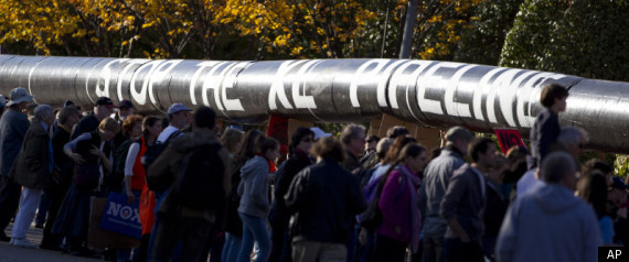 KEYSTONE XL PROTEST PIPELINE DELAYED