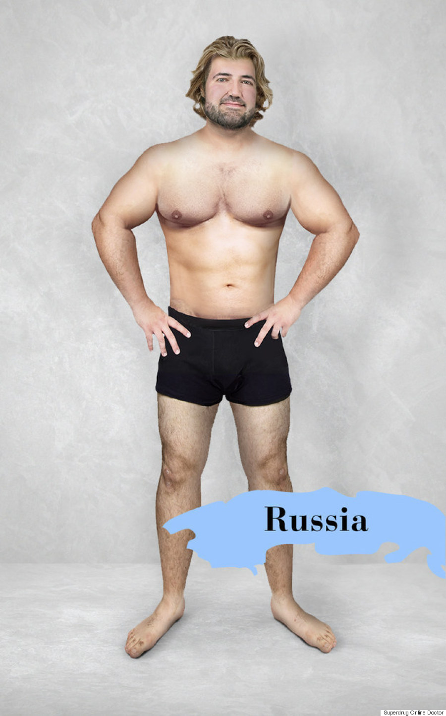 russia ideal man