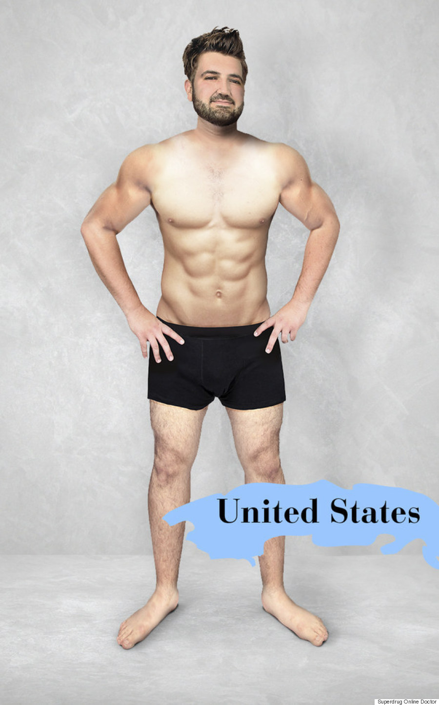 united states ideal man