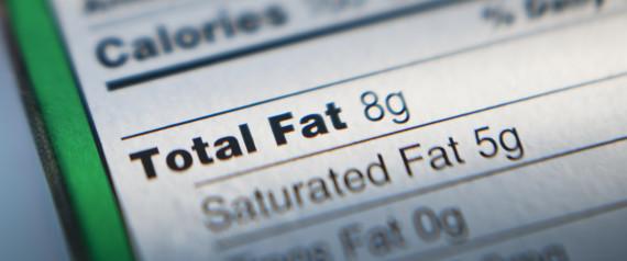 NUTRITION LABEL FAT