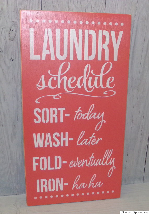 laundry sched
