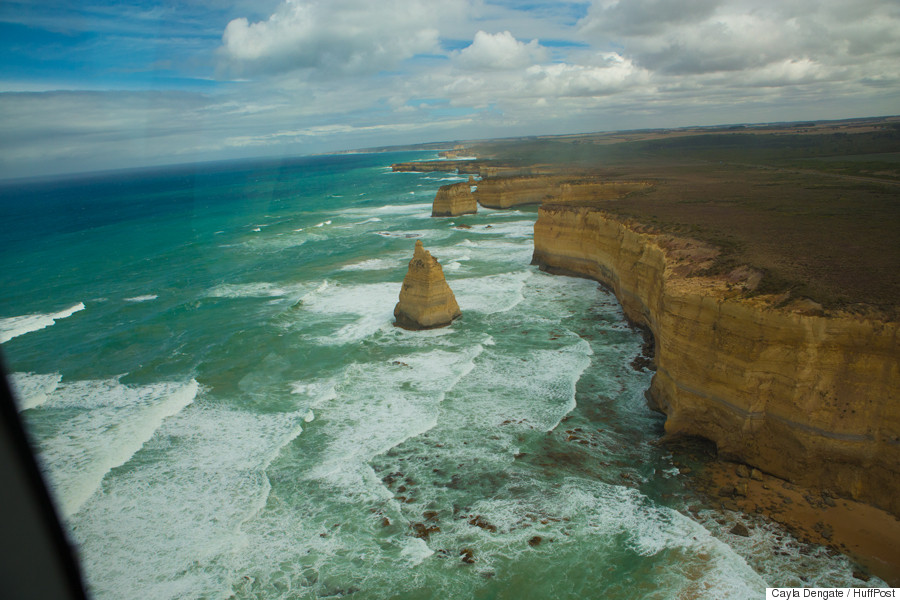 12 apostles helicopter walking tour bridge