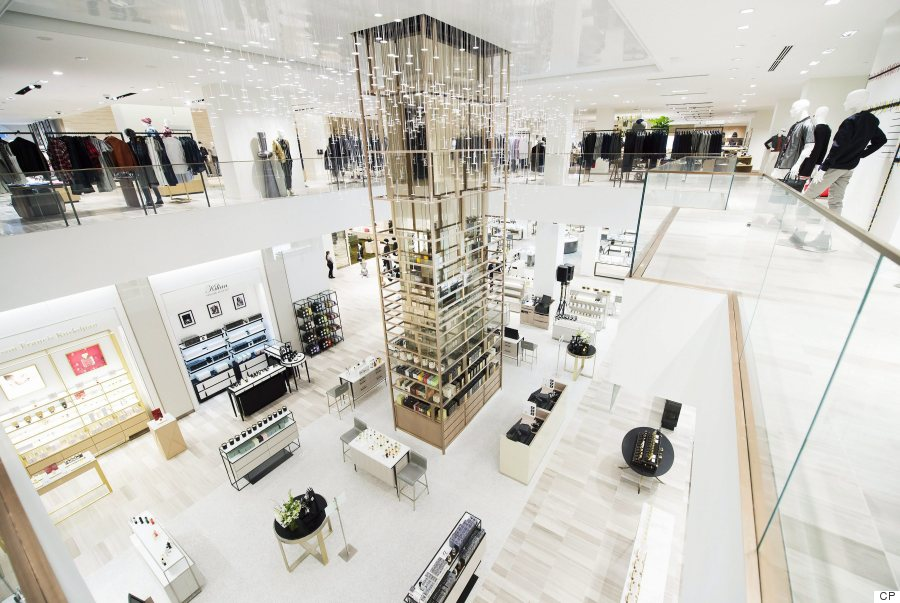 Saks Fifth Avenue's First Canadian Store Opens In Toronto