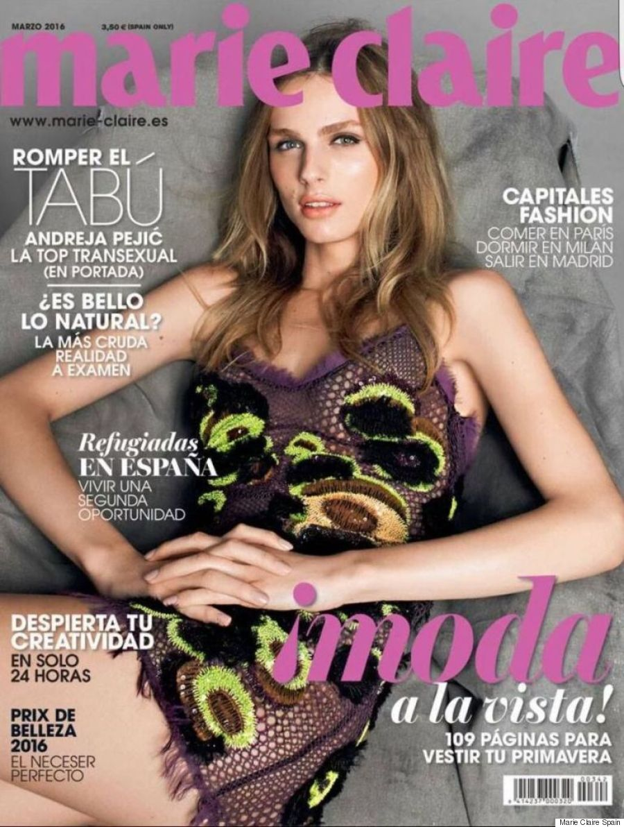 andreja pejic marie claire spain
