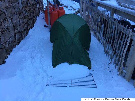 missing climbers tent