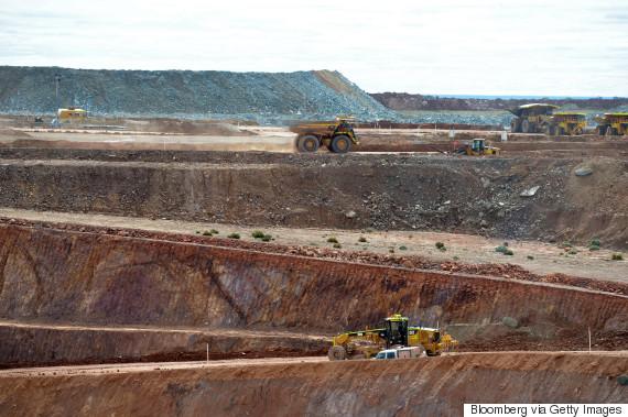australia mine china