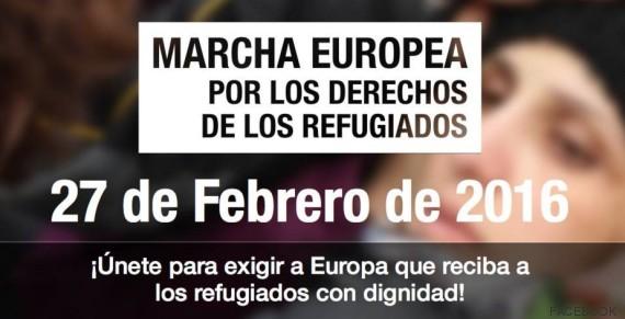 marcha refugiados