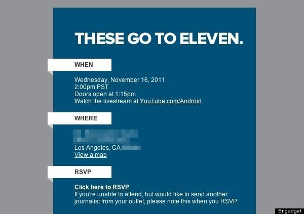 Google Music Event Invitations Delivered For The Go To Eleven