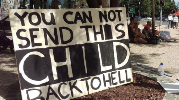 aisha child refugee in australia