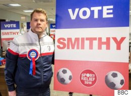 James Corden Resurrects Smithy For New Comedy Sketch