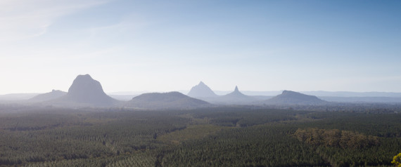 glasshouse mountain