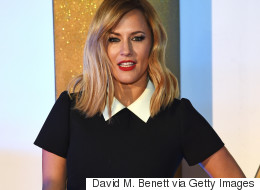 Caroline Flack Follows Olly Out The 'X Factor' Door