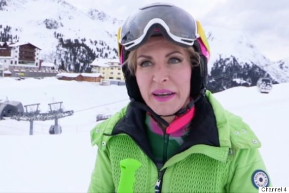 view download images  Images 'The Jump': Heather Mills Crashes Out Of Channel 4 Show With Knee And Thumb Injury | HuffPost UK