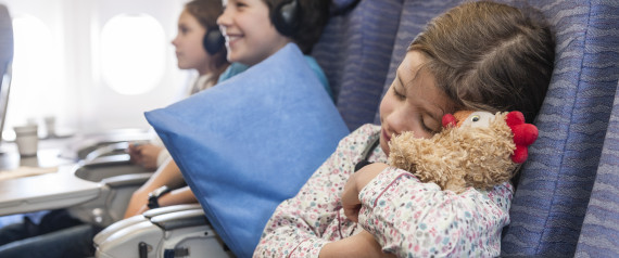 FLYING ON AN AIRPLANE WITH KIDS
