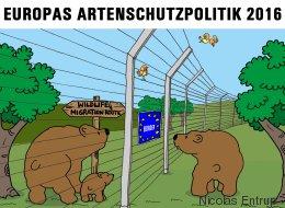 """Grenzüberschreitung """"Grenzzaun"""