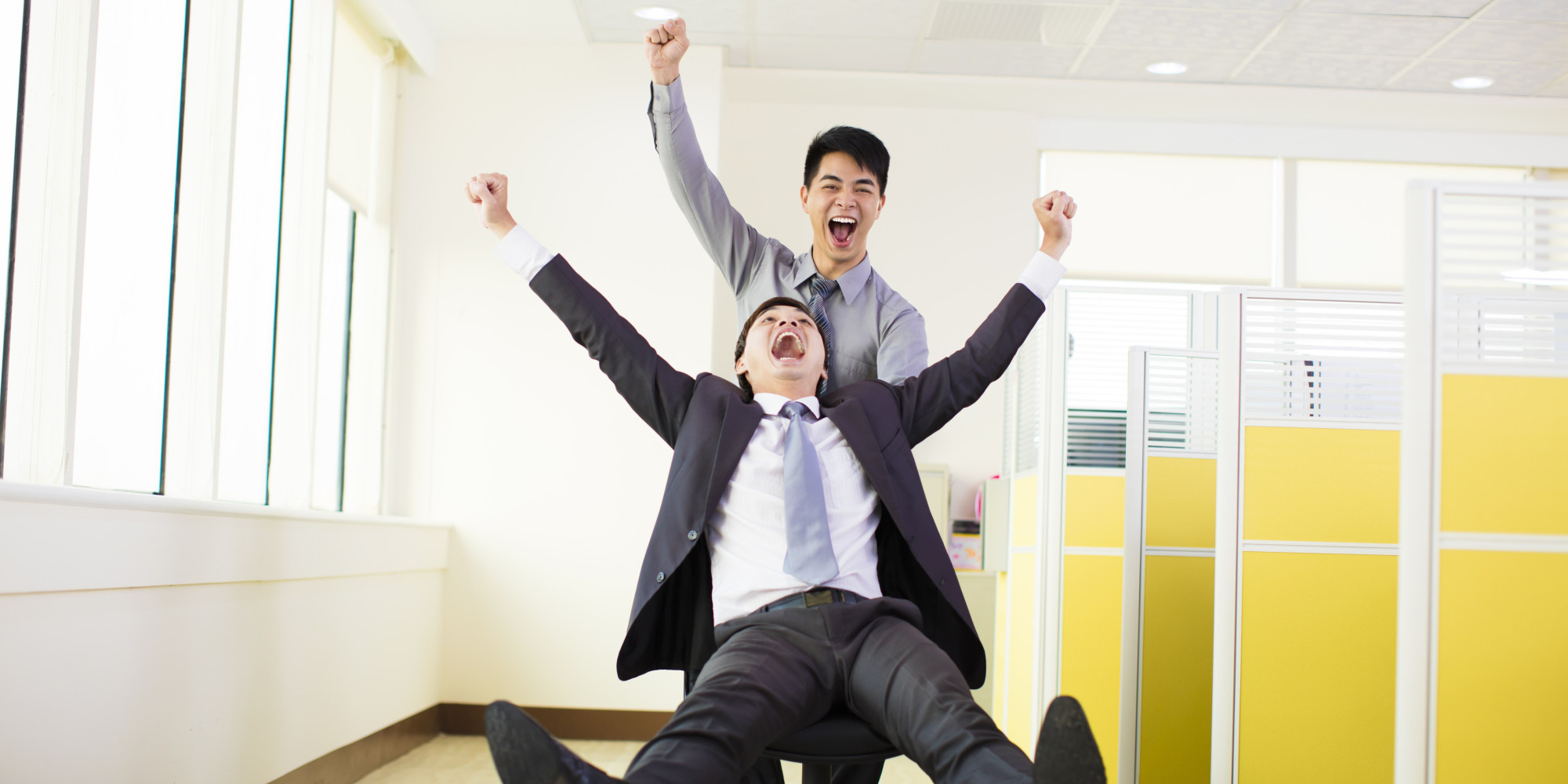 5 Ways to Create a Healthier, Happier Office | HuffPost  |Happy Working