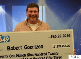 B.C. Man Doesn't Want To Quit His Job After $21-Million Lottery Win