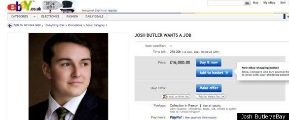 JOSH BUTLER EBAY