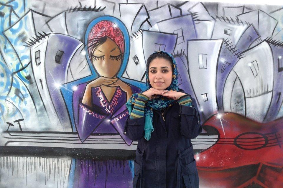 street art afghan