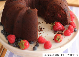 The Condiment That Helps Create A Better Chocolate Cake