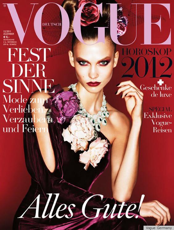 Karlie Kloss Covers German Vogue December Issue (PHOTOS ...