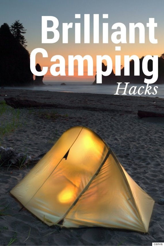 16 Brilliant Camping Hacks to Make Your Life Easy