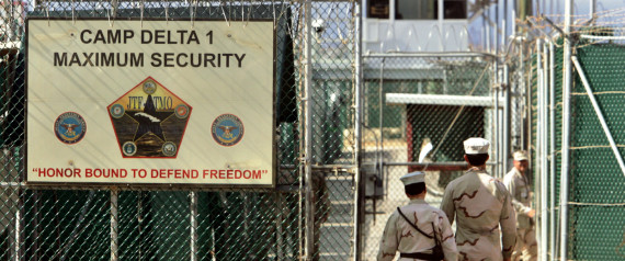 CAMP DELTA AT GUANTANAMO