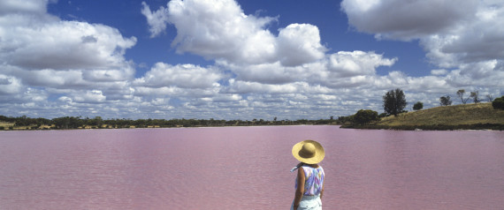 pink lakes victoria