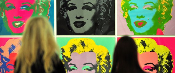 marilyn monroe and exhibition