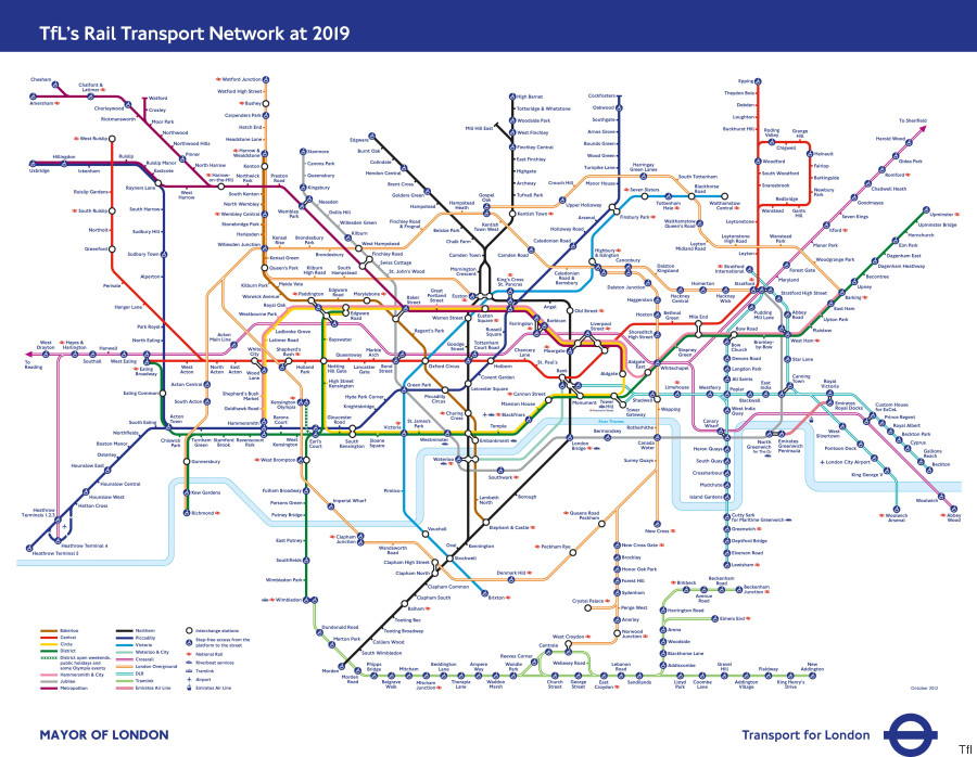 Elizabeth Line London Tube Map Shows How Capital's Underground: Underground Map In London At Infoasik.co