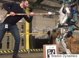 Boston Dynamics Is Taunting Its New Humanoid Robot To Show How Scary It Is